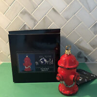 Fire Hydrant Glass Ornament by Joy to the World Collectibles | Poland
