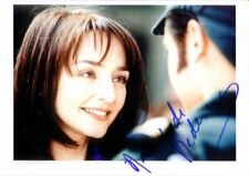 """Maria de Medeiros genuine autograph photo 6""""x8"""" signed In Person Cannes 2004"""
