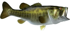 """Sport Fish Replica - 10 lB. LARGE MOUTH BASS WALL MT- 26"""" Half Cast for Budget!"""