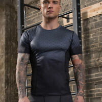 Men's Athletic Base layer Compression T-shirt Sport Quick dry Short Sleeve Tee