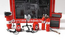 1:18 GMP TEXACO Shop Tool Accessory SET Zubehör red NEW bei PREMIUM-MODELCARS