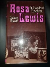 ROSA LEWIS  - ANTHONY MASTERS 1ST EDITION H/B D/J 1987