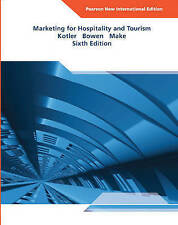 Marketing for Hospitality and Tourism, Very Good Condition Book, Makens Ph.D., J