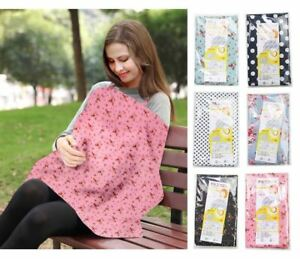 Baby Breastfeeding Nursing Cover 100% Cotton 3 in 1 Maternity Clothing
