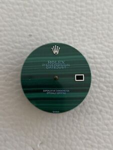 Rolex Datejust 16200 16220 36mm Green Malachite Dial Aftermarket
