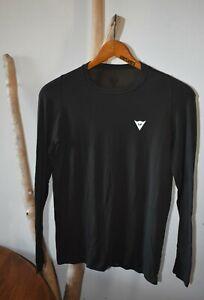 DAINESE Men's Medium L/S MTB Jersey Made in Italy Lightweight Wicking UV Stretch