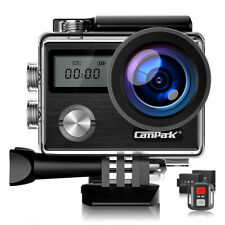 Campark 4K 20MP WiFi Action Camera Touch Screen EIS Underwater DV Sports Cam X20
