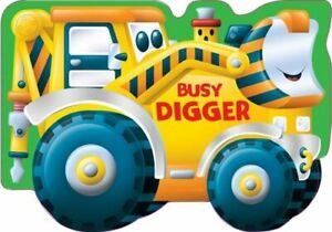 Digger (Wheelie Sounds) Book The Cheap Fast Free Post