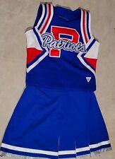 Varsity  Cheerleading Uniform Patriots High School YXL+2-9/14 Red White Blue