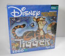 Disney Photomosaics Puzzle 1000 Pieces Tigger 27 x 20 New Sealed Winnie the Pooh