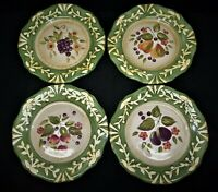 "Certified International LA TOSCANA, Pamela Gladding 8 1/2"" Salad Plates Set of 4"