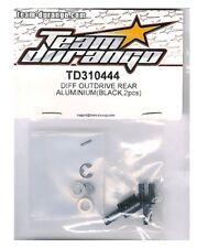 RC Team Durango TD310444 DIFF OUTDRIVE REAR ALUMINIUM DETC410 DETC410v2 1/10 2pc