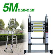 5M Aluminium Telescopic ladder Scala alluminio telescopica Ladder Extension Step