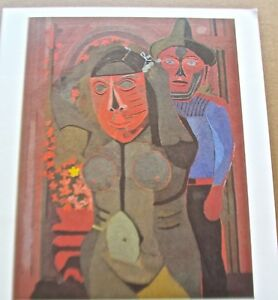 Carnival  Poster by Rufino Tamayo Mexican Artist 15x13