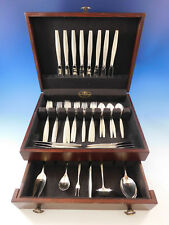 Florentine by Kirk Sterling Silver Flatware Set for 8 Service 46 pieces