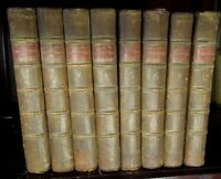 Rare 1771 The Works of Mr. William Shakespeare in 8 Volumes