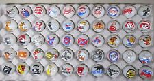 50 Advertising & Cartoon Logo 1 Inch Marbles Great For Collecting / Resale lot G