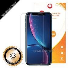 iPhone XR Screen Protector 3x Anti-Glare Matte Cover Guard Shield Saver