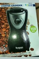 Tropan Coffee Grinder, 65g Coffee Bean Capacity, Soft Fingertip On/Off Switch