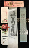 Lot Of Antique Advertising Bookmarks-White Star Lard-Celluloid