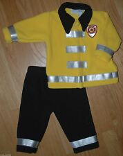 Firefighter - FLEECE JACKET & PANTS SET - Halloween Everyday - Baby Boys 9M