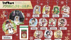 NEW Haikyuu!! Christmas Series Acrylic Big Key Holder 11 Types Official Japan