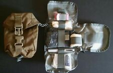 Molle IFAK Platoon Medic Trauma Pouch & Insert With Medical Supplies Pocket Pack
