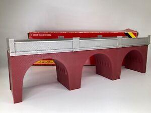 Vintage HORNBY RAILWAYS R180 Viaduct Bridge Scenery Model OO Gauge BOXED