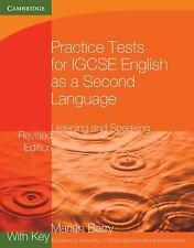 Cambridge International IGCSE: Practice Tests for IGCSE English as a Second...