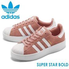 Adidas Superstar Bold Originals Damen Wild Leder Schuh Cut Sneakers Turnschuh