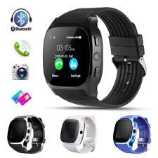 T8 Bluetooth Smart Watch con cámara Reproductor  música Smartwatch para Android