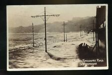 SCARBOROUGH Yorkshire   South Foreshore Road Flooded  with rough sea RP