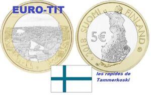 5  EURO  FINLANDE COMMEMORATIVE  SERIE   PAYSAGE  N° 6  /    2018     disponible