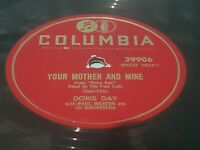 """DORIS DAY - MISTER TAP TOE / YOUR MOTHER and MINE - 10""""  VINYL 78 RPM"""