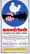 Woodstock  Locandina Originale POSTER 33X70