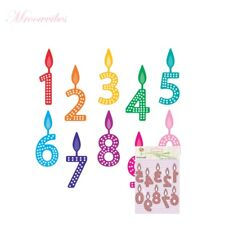 Number Candle DIY Cutting Dies Stencil Scrapbooking Embossing Paper Card Craft