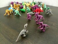 Dinosaur Lot of miniature Dino figures Ransom assortment of various pieces