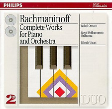 Rachmaninov: Complete Works for Piano and Orchestra, , Good