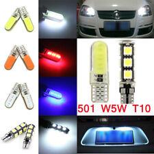 T10 CAR BULBS LED ERROR FREE CANBUS SMD XENON WHITE W5W 501 SIDE LIGHT BULB 12V