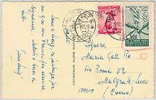AUSTRIA - CARTOLINA con CHIUDILETTERA: DEMOCRAZIA CRISTIANA 1954