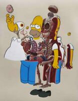 NYCHOS - Dissection of Homer Simpson 2020 poster art print