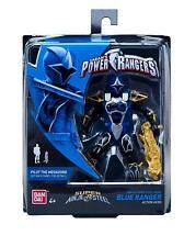 Power Rangers Super Ninja Steel 12.5cm Blue Ranger Figure - (BNIB) - 43942