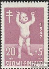 Finland 345 gestempeld 1947 Vechten Tuberculose