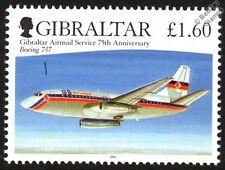 GB Airways BOEING 737 Passenger Airliner Aircraft Stamp (2006 Gibraltar)