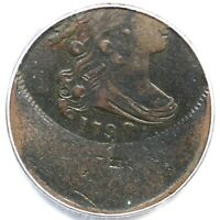 1798 PCGS VF 20 Struck 35% Off Center Draped Bust Large Cent Coin 1c