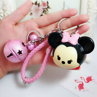 mickey minnie pluto PVC key chain keyring ornament bag pendant anime new