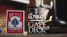 THE ULTIMATE GAFF DECK KIT WITH DVD +GUIDE+PROP BICYCLE MAGIC MAKERS CARD TRICKS