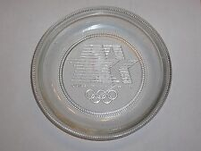 1984 OLYMPIC GAMES Los Angeles - Original USA Olympic Committee Crystal Coaster