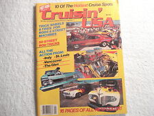 Hot Rod Magazine Cruisin' USA 1986 V4 #1  Great Pictures-Ideas-Tips-Adds
