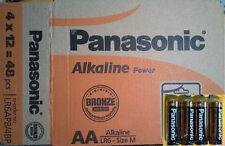 48 AA + 48 AAA Pila Alcalina 1,5v PANASONIC Alkaline Power, 2 Cajas completas
